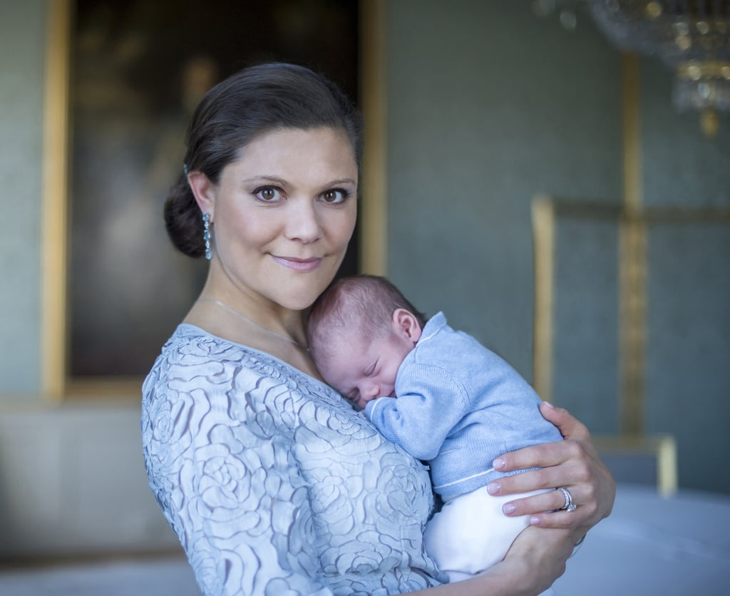 The Swedish Royal Family Celebrates the Birth of Their Little Prince With New Photos!