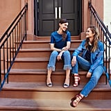 Canadian Tuxedo: A look that consists of a denim top paired with jeans, aka denim-on-denim. Nautical: Anything with stripes or red, white, and blue. See Now, Buy Now: A runway collection that's instantly shoppable as soon as its debuted. Bag Lady: A girl who's toting a bunch of different satchels at once. She looks like she needs help, but you can tell she's with it and will make it home with all items in tow.