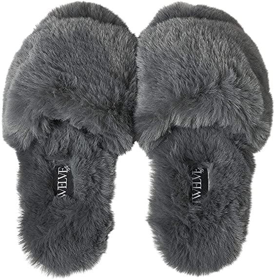Twelve AM Co., So Good Fluffy Slippers