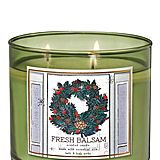 Bath and Body Works's Fresh Balsam Candle