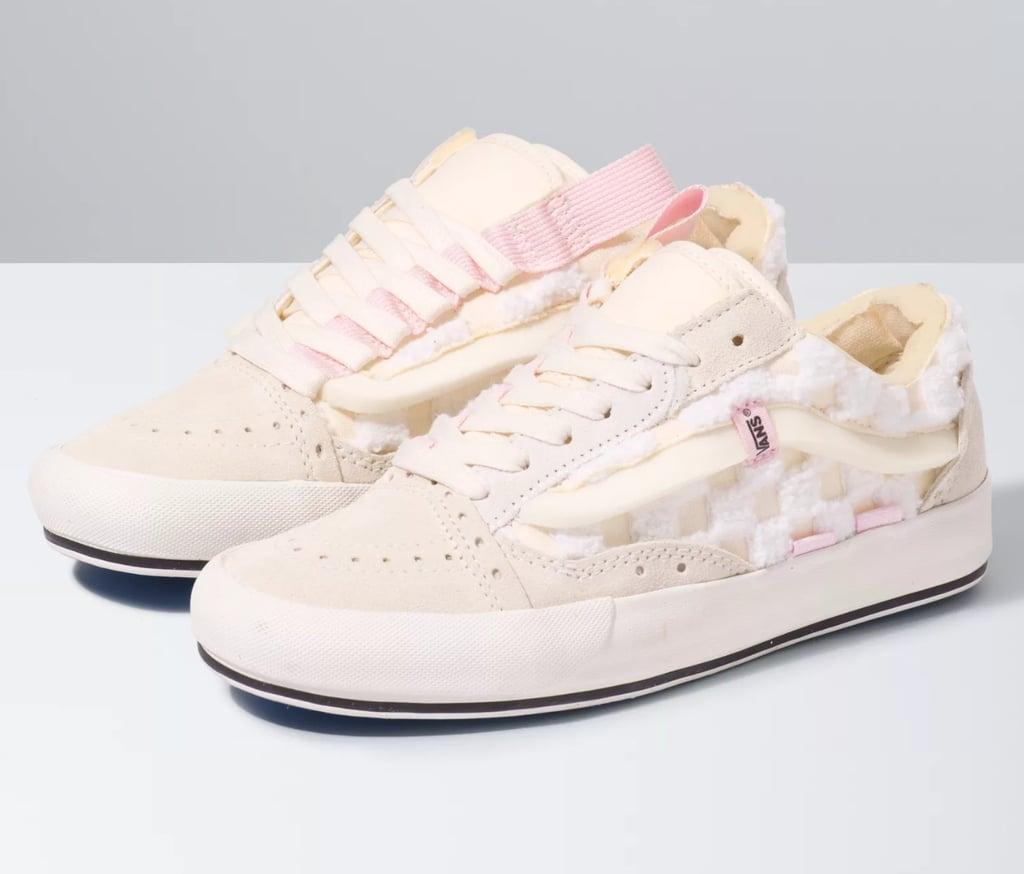 Chenille Check Old Skool Cap Sneakers