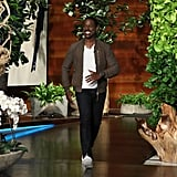 See More Photos of Sterling's Appearance on The Ellen DeGeneres Show