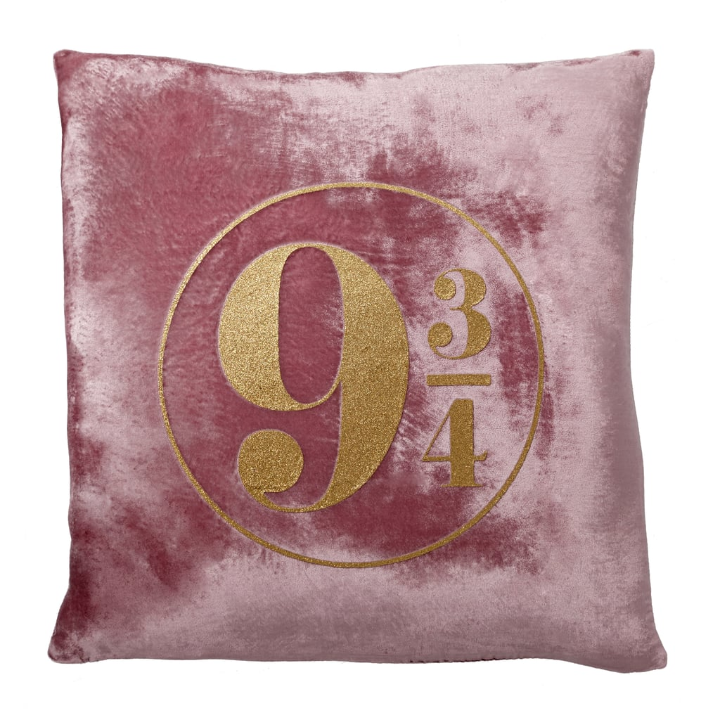 Platform 9 3/4 Velvet Throw Pillow ($36)