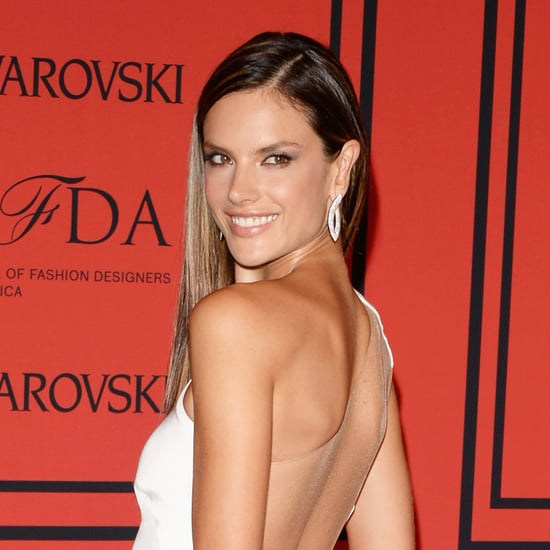 Alessandra Ambrosio Hair at CFDA Awards 2013