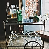 Gleaming Bar Cart