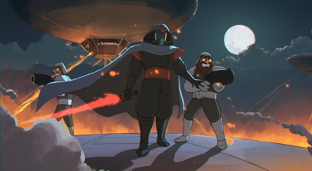 Star Wars and Studio Ghibli Fan Art
