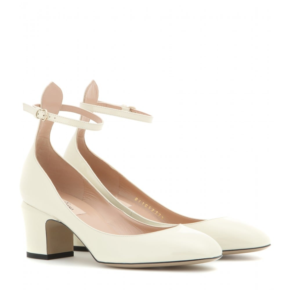 It's confirmed: the Valentino Tango shoes are the new Rockstuds. My obsession has officially kicked in, and all I want is a pair of these cream patent-leather Mary Janes ($875). I swear I'd wear them with everything, from cropped denim to dainty floral dresses. — SW, editorial assistant
