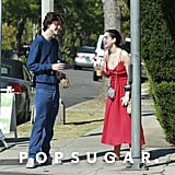 Timothée Chalamet and Kiernan Shipka Grab Coffee in LA