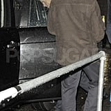 Prince Harry headed home after a fun London night.