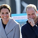 Prince William and Kate Middleton Blush Easily