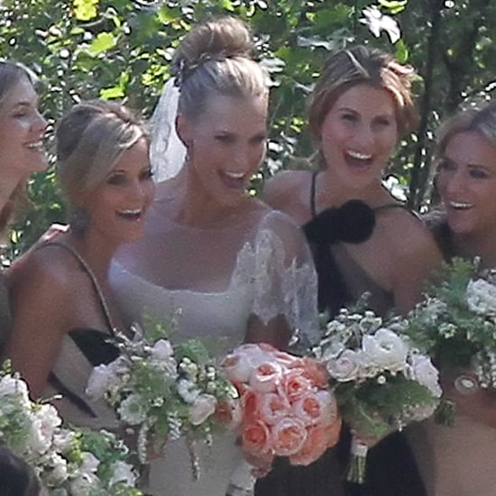 Molly Sims Wedding Pictures With Scott Stuber