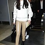 Selena Gomez at LAX Airport November 2016