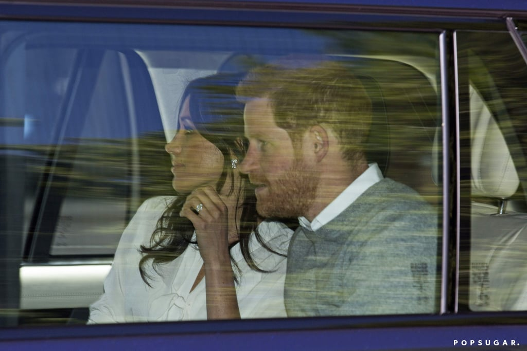 Meghan Markle's Wedding Rehearsal Look