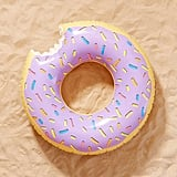 Lilac Donut Inner Tube Pool Float