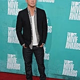Channing Tatum tucked his hands in his pockets on the red carpet.