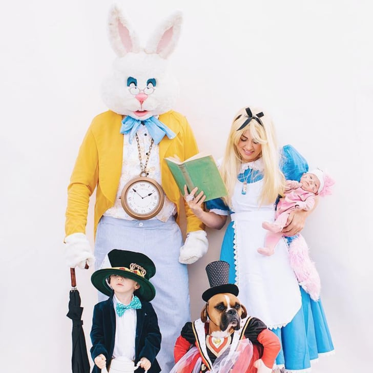 Alice In Wonderland Halloween Costume Family.Jillian Harris S Alice In Wonderland Halloween Costume 2018
