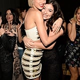 Pictured: Taylor Swift and Lorde