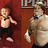 Chris Farley as a Chippendales dancer