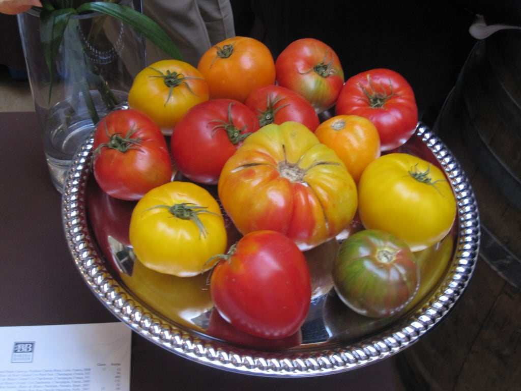How gorgeous do these heirloom tomatoes look?