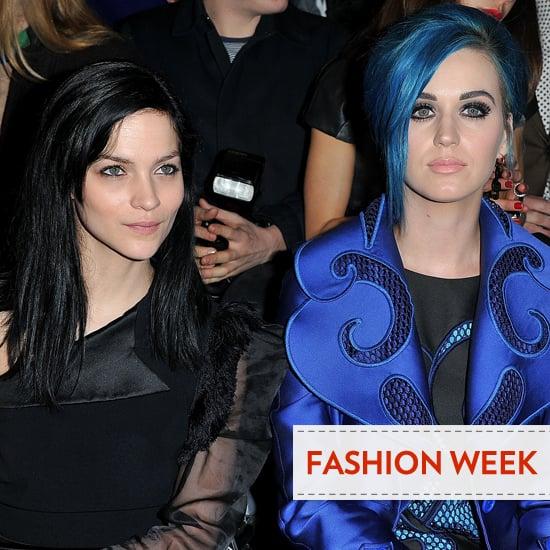 Front Row Celebrities at Paris Fashion Week