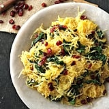 Spaghetti Squash With Swiss Chard and Cranberries
