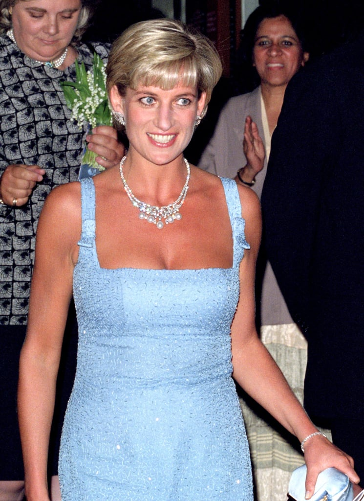 Princess Diana With a Pixie Cut in 1997
