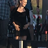 Natalie Portman Reports to Set With Her Newly Blond Locks