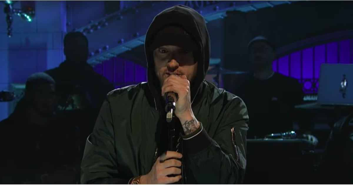 Eminem Performs a Melody of His Hit Songs on SNL and We Want an Encore