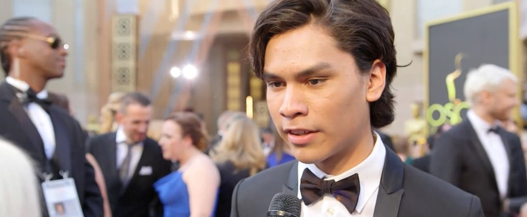 "Leonardo DiCaprio's Onscreen Son Forrest Goodluck on How Leo ""Completely Changes"" on Set"