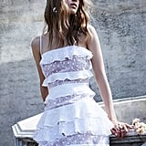 Cosmic Tiered Lace Dress ($297)
