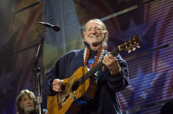 Stephen Colbert Confronts Willie Nelson Over Ice Cream