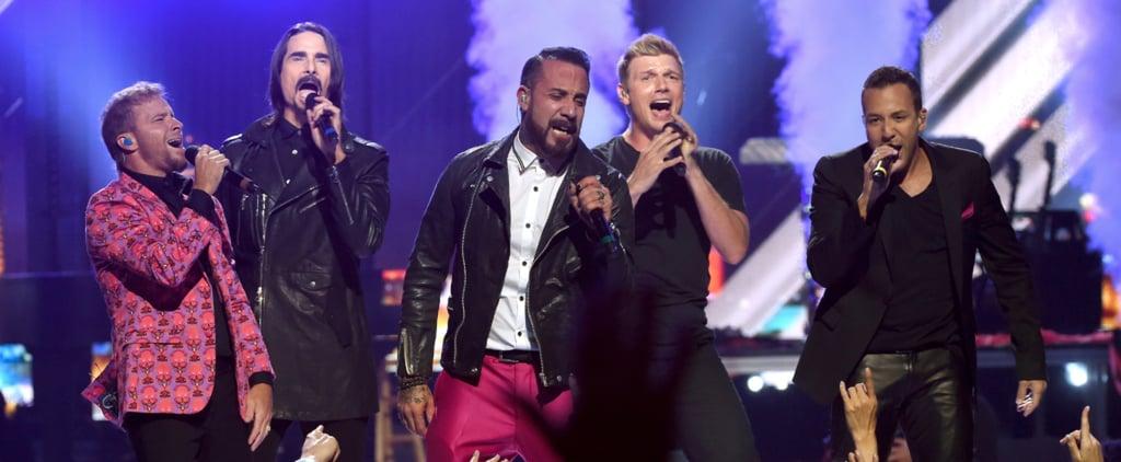 Backstreet Boys Tease Their Upcoming Vegas Residency With a Rockin' Performance