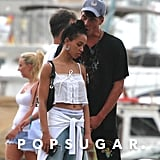 FKA Twigs With Male Model in Ibiza Pictures August 2017