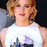 Jennifer Lawrence's pixie-bob hybrid was front and centre.