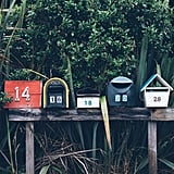 Leave holiday cards in your neighbors' mailboxes.