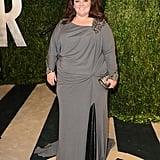 We love the embellished details on Melissa's 2013 Vanity Fair Oscars party dress.