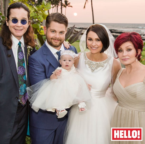 Celebrity Wedding Hawaii: Jack Osbourne And Lisa Stelly Were Surrounded By Family