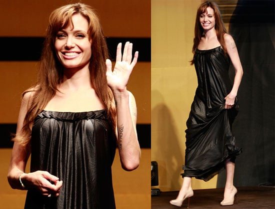 Pictures of Angelina Jolie Promoting Salt in Seoul