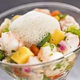 Shrimp Ceviche With Lime-Mint Foam