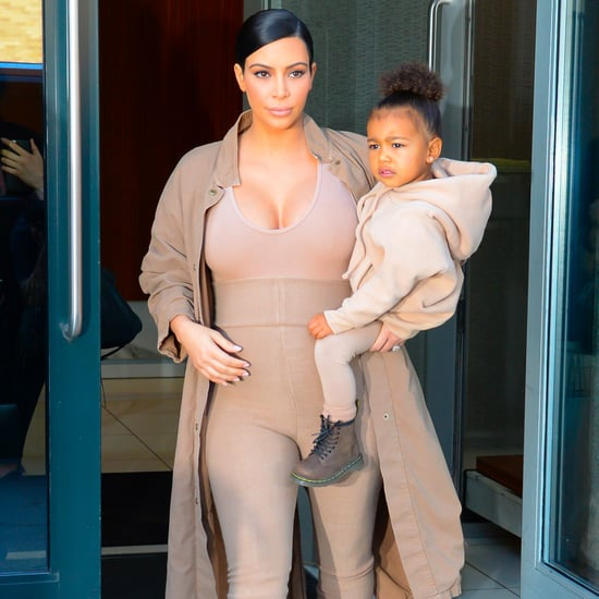 Kim Kardashian and North West Matching Outfits