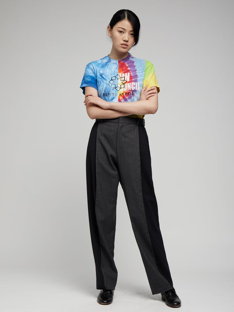 Rentrayage Two Tone Trousers