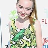 Sabrina Carpenter With Blond Ponytail in 2013