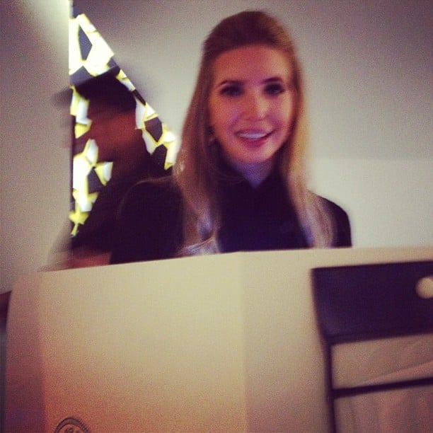 Ivanka Trump hit the polls to cast her vote. Source: Instagram user ivankatrump