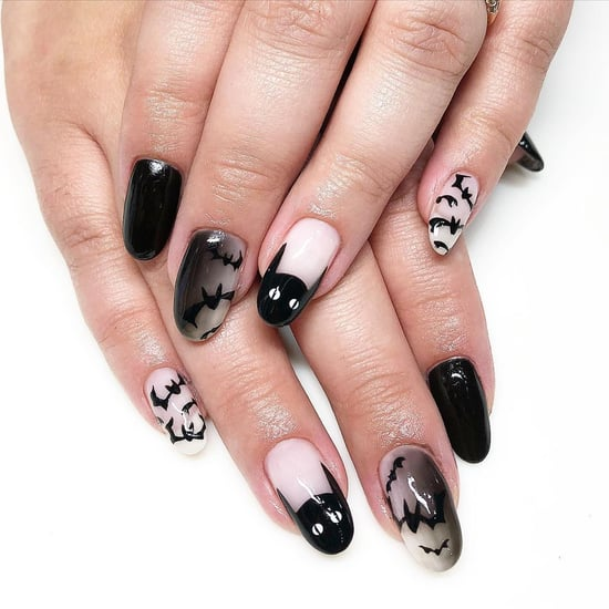 25 Black-Cat Halloween Nail-Art Designs