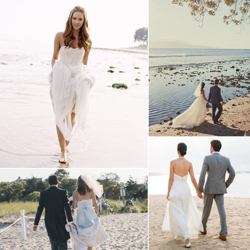 Draw Inspiration From the Most Gorgeous Beach Wedding Dresses