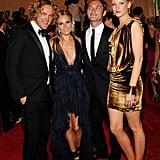 Peter Dundas, Sienna Miller in Emilio Pucci, Jude Law, Savannah Miller