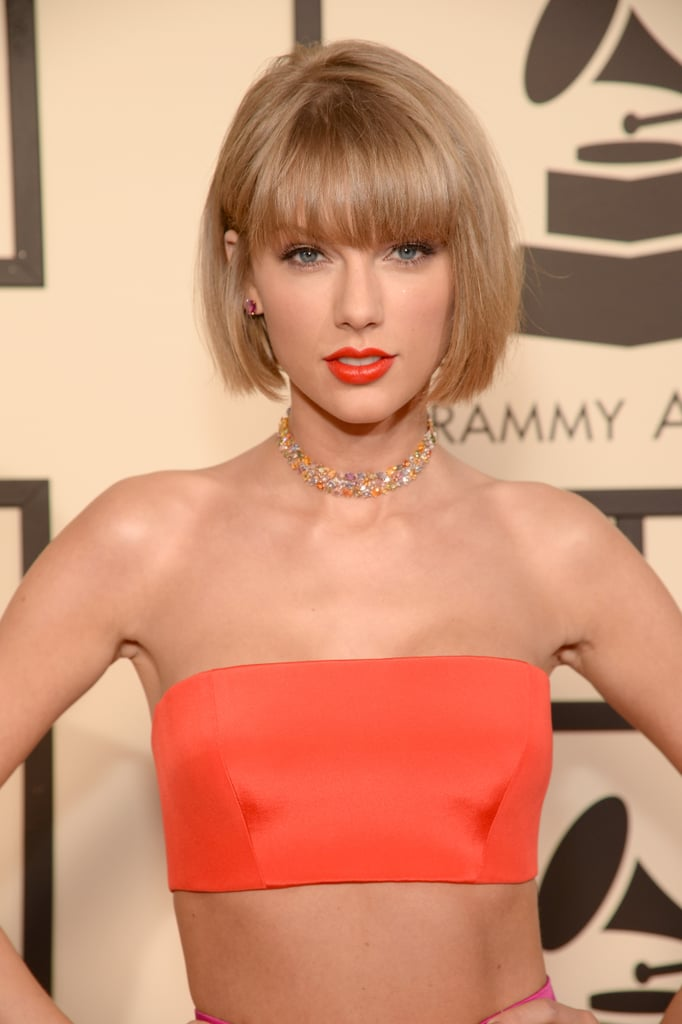 Taylor Swift Haircut Grammy Awards 2016 Popsugar Beauty