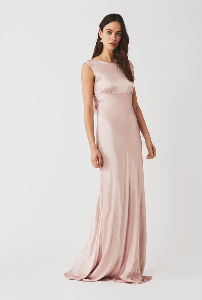 Pink Bridesmaid Dress: Ghost Salma Dress