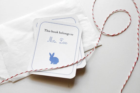 Custom Bookplates