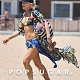 Gwen Stefani in a Bikini Pictures July 2017